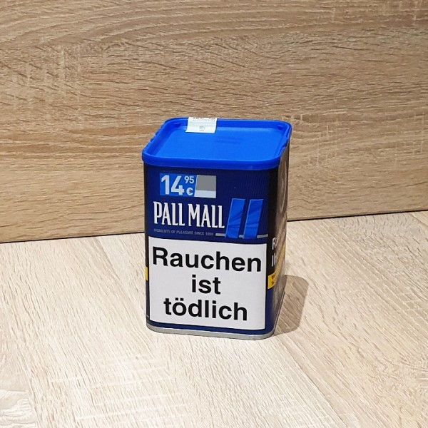 Pall Mall Volumen Tabak Blue Dose