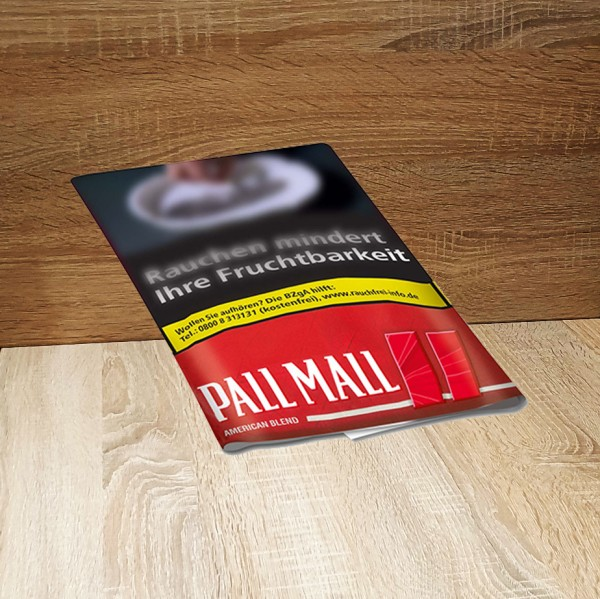 Pall Mall Roll American Blend Red Stange
