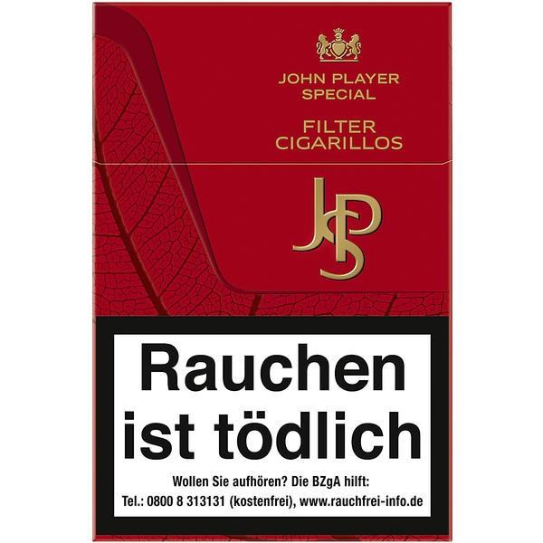 JPS Red Filter Cigarillos Stange