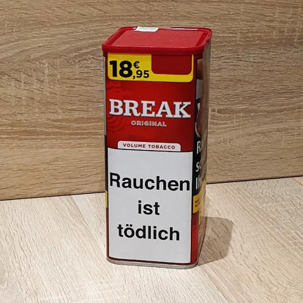 Break Original Volumen Tabak Dose