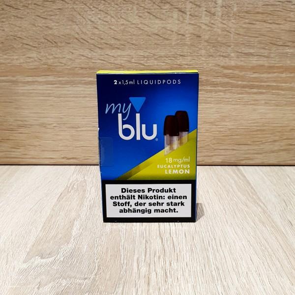 My Blu Pod Eucalytus Lemon 18mg