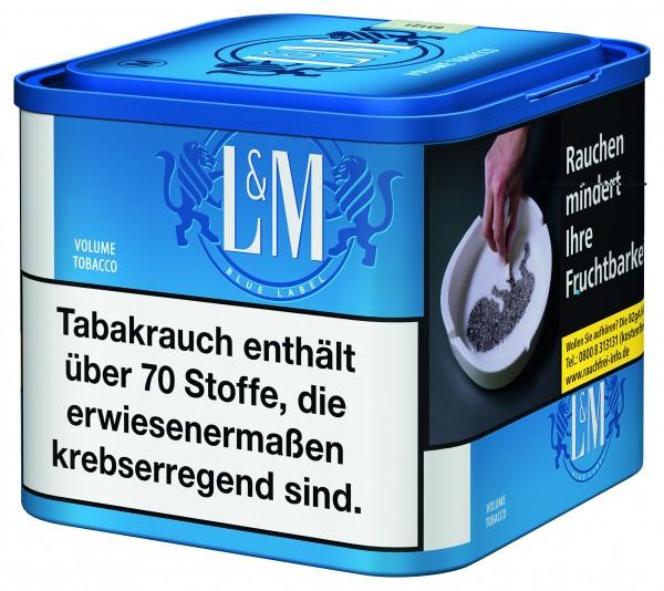 L&M Volume Tobacco Blue M Dose