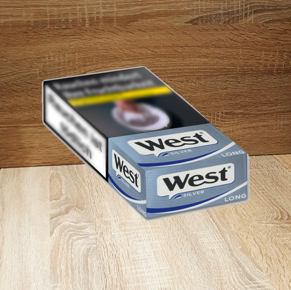 West Silver Long Stange
