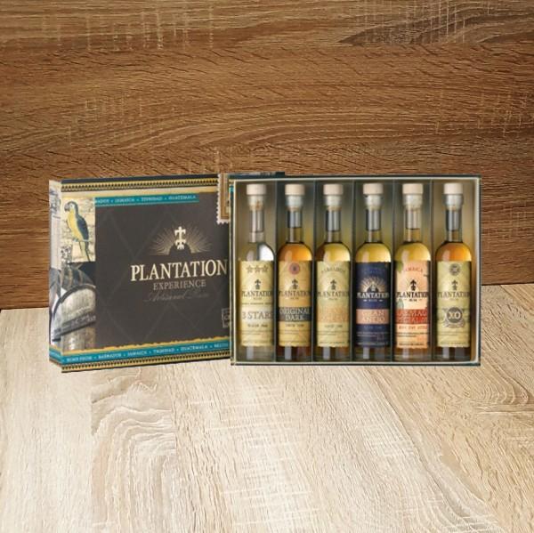 Rum Plantation Experience Box 6 x 100 ml verschiede Abfü, 600ml