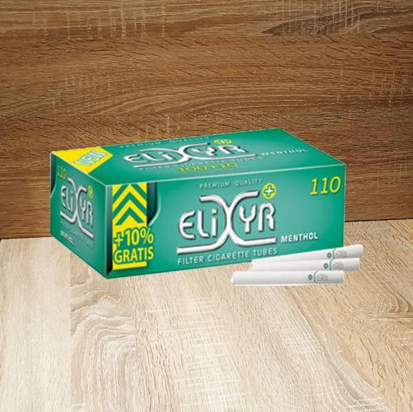 Elixyr Plus Menthol Hülsen 5x110
