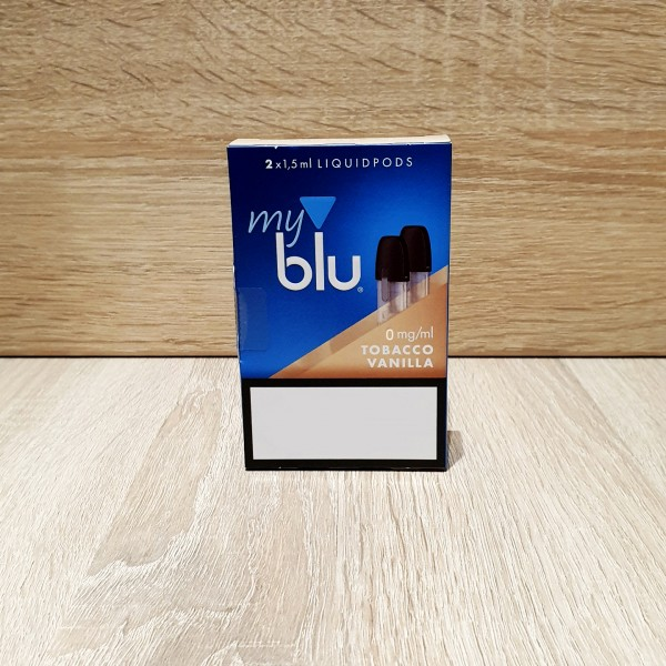 My Blu Pod Tabacco Vanilla 0mg