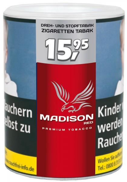 Madison Red Volumen Taback Dose