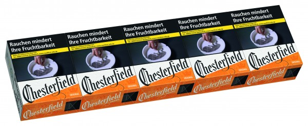 Chesterfield Red 3XL Stange