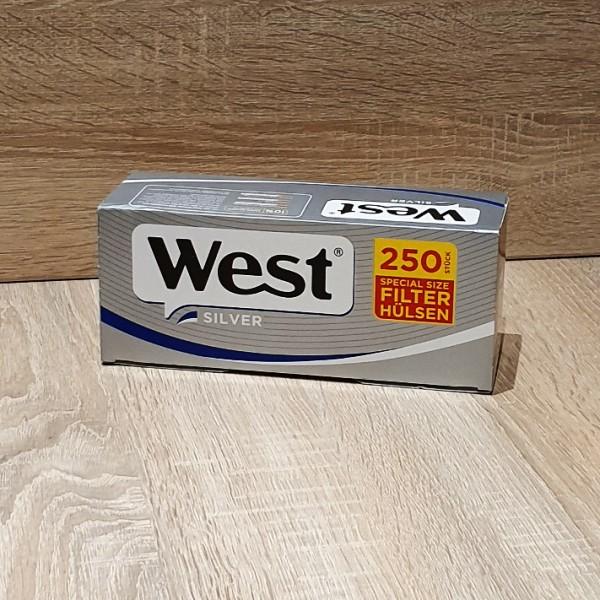 West Silver Special Size Filterhülsen 4x250 Stück