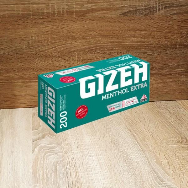 Gizeh Menthol Extra 5x200 Hülsen