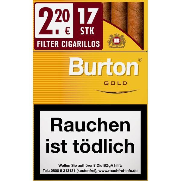 Burton Vanilla/Gold Naturdeckblatt L Stange