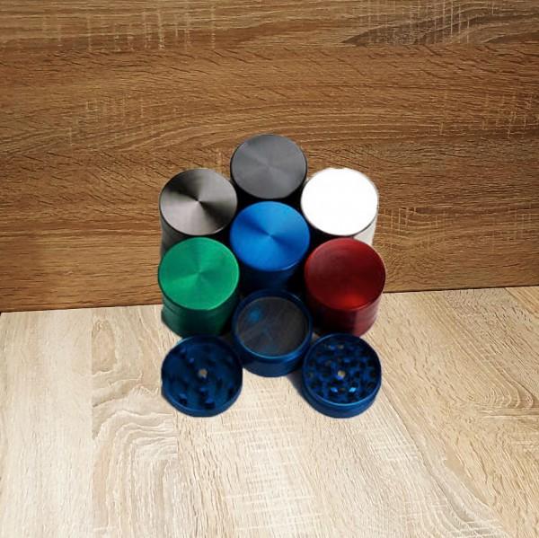 Grinder Metall 42mm 4er, zufällige Farbe