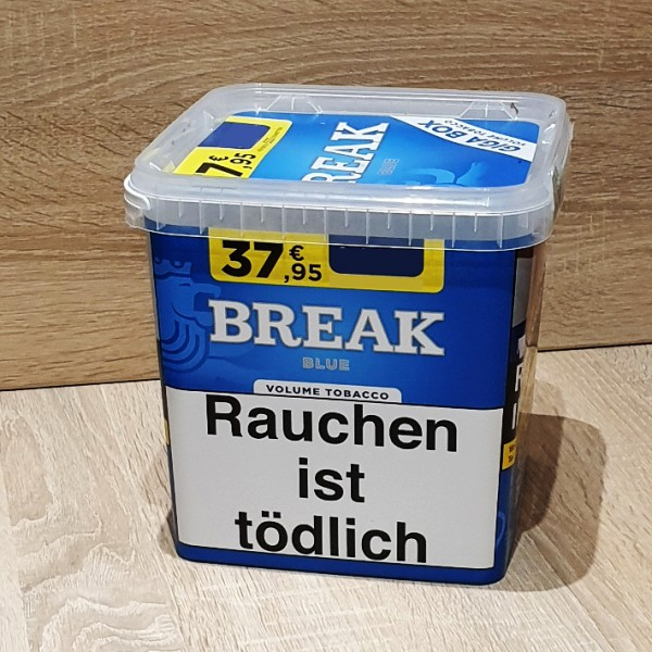 Break Blue Volumen Tabak GIGA Box