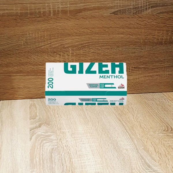 Gizeh Menthol 5x200 Hülsen