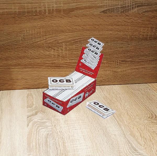 OCB weiß kurz No 4, 25x100 Blättchen