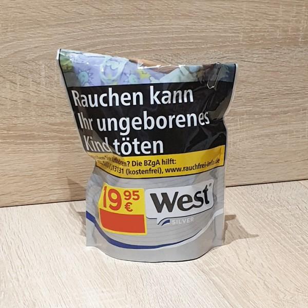West Volumen Tabak Silver Beutel