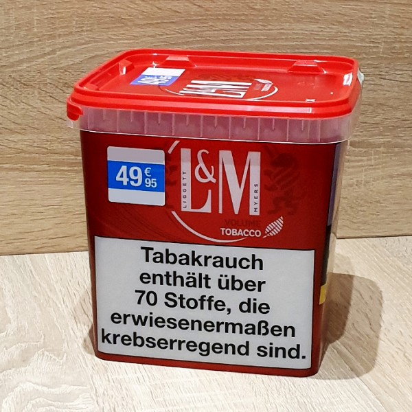 L&M Volume Tobacco Red SuperBox Box