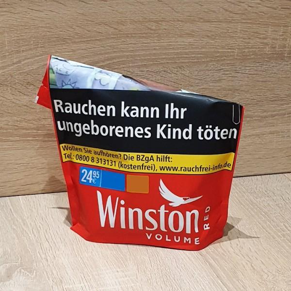 Winston Volume Tobacco Red Beutel