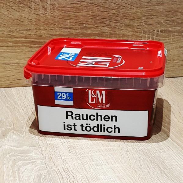 L&M Volume Tobacco Red MegaBox Box