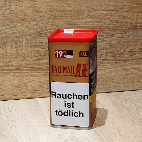 Pall Mall Volumen Tabak Authentic Red XXL Dose