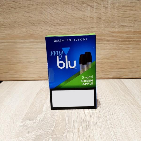 My Blu Pod Green Apple 0mg
