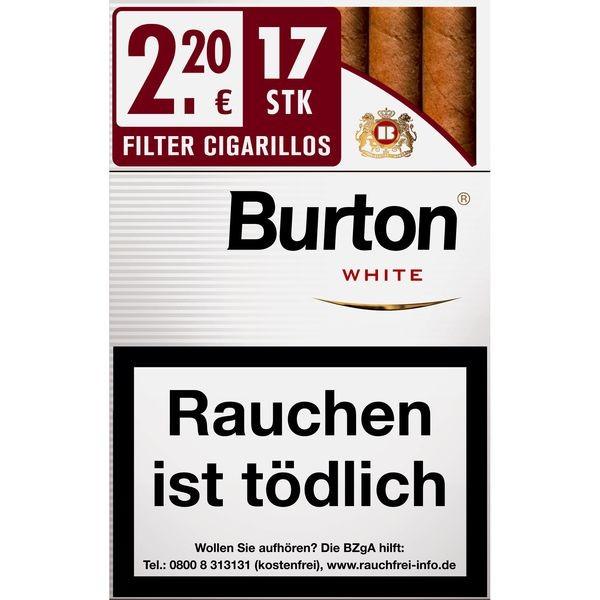 Burton White Naturdeckblatt L Stange