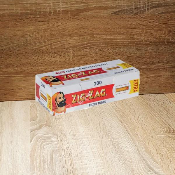 Zig Zag Extra Filterhülsen 5x200