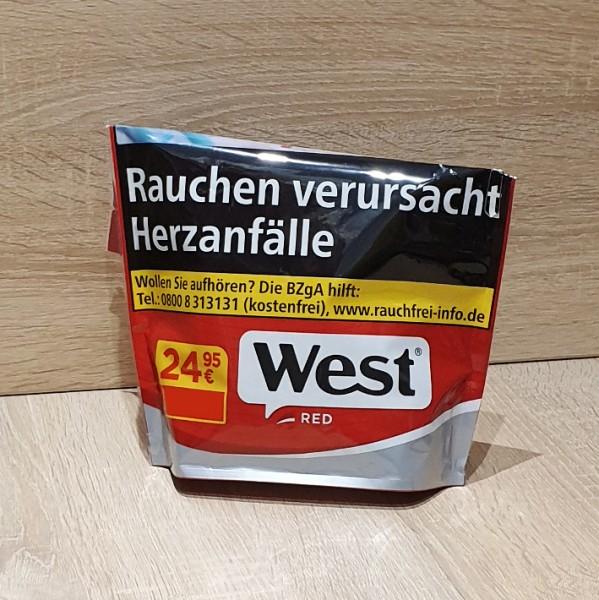 West Volumen Tabak Red Beutel
