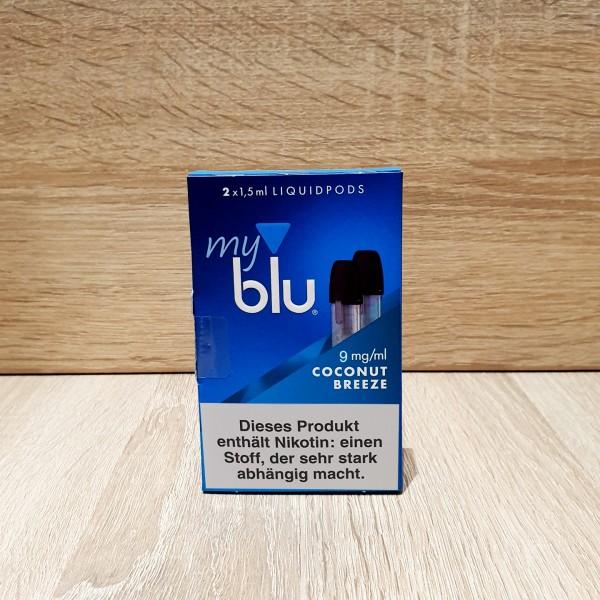 My Blu Pod Coconut Breeze 9mg