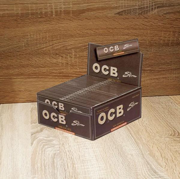 OCB Unbleached Virgin Paper Slim