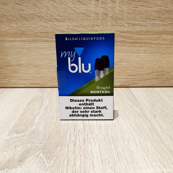 My Blu Pod Menthol 18mg