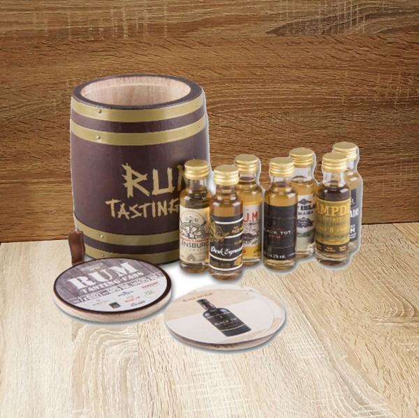 Rum Tasting Fass 7 x 20 ml 43 % Vol., 140ml