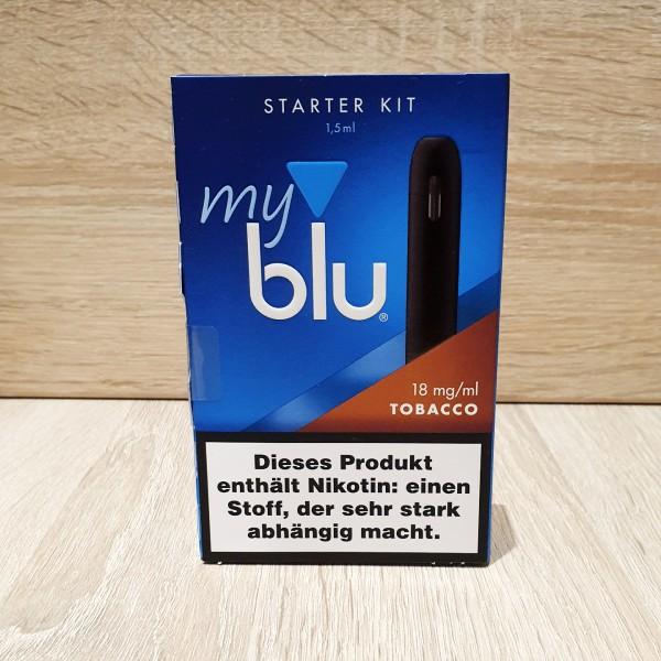 My Blu Starter Kit Tobacco 18mg