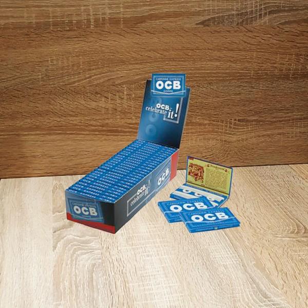 OCB Blau Gummizug (100 Blättchen)