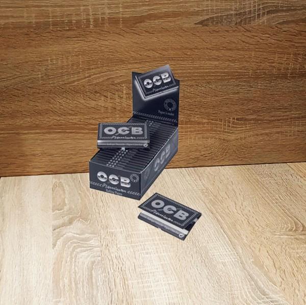 OCB Schwarz Premium kurz (100 Blättchen)
