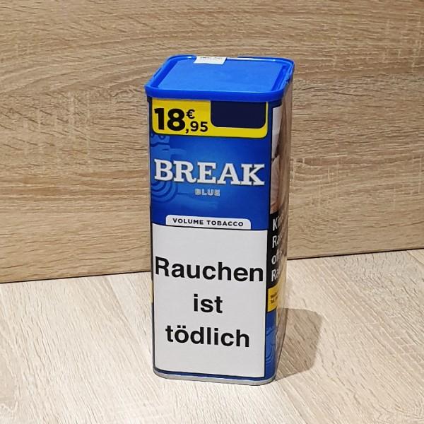 Break Blue Volumen Tabak Dose