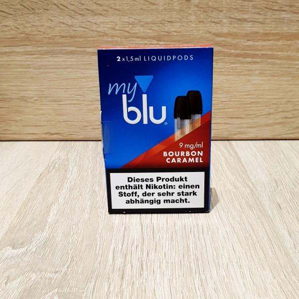 My Blu Pod Bourbon Caramel 9mg