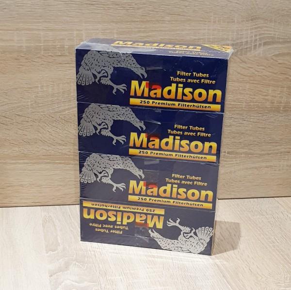 Madison Premium Filterhülsen 4x250 Stück
