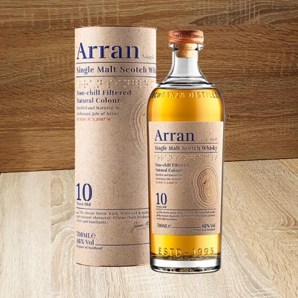 ARRAN 10J 46 % Vol., 700ml