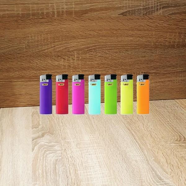 Bic Feuerzeug Electronic min, zufällige Farbe