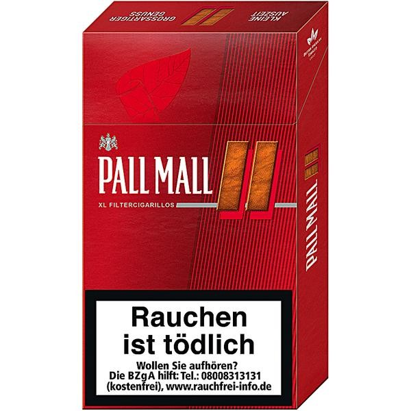 Pall Mall Red XL Filter Cigarillos Stange