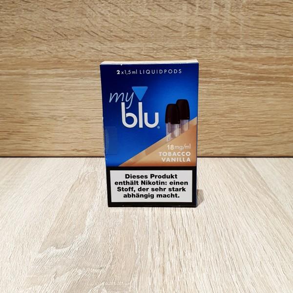 My Blu Pod Tabacco Vanilla 18mg