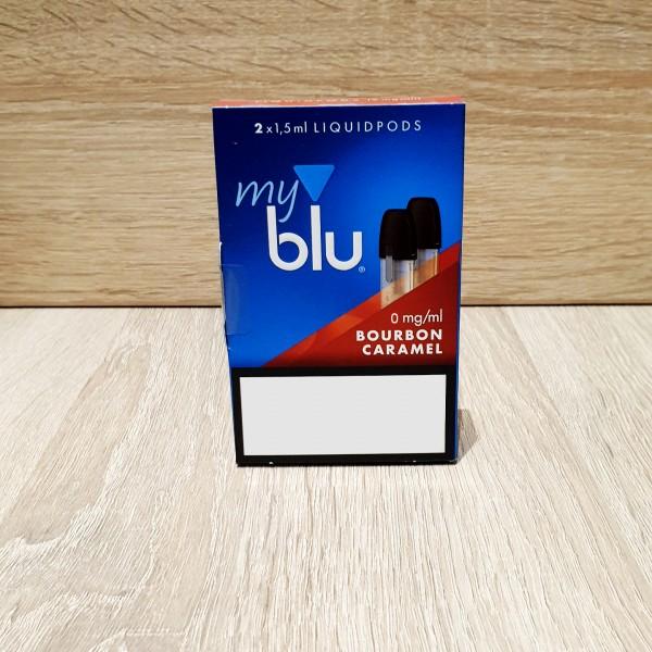 My Blu Pod Bourbon Caramel 0mg