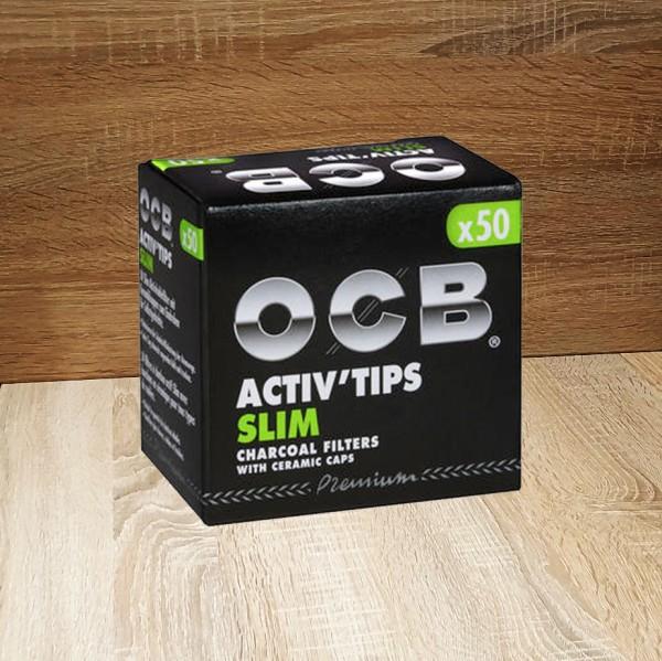 OCB Activ Tips Slim (50 Stück)