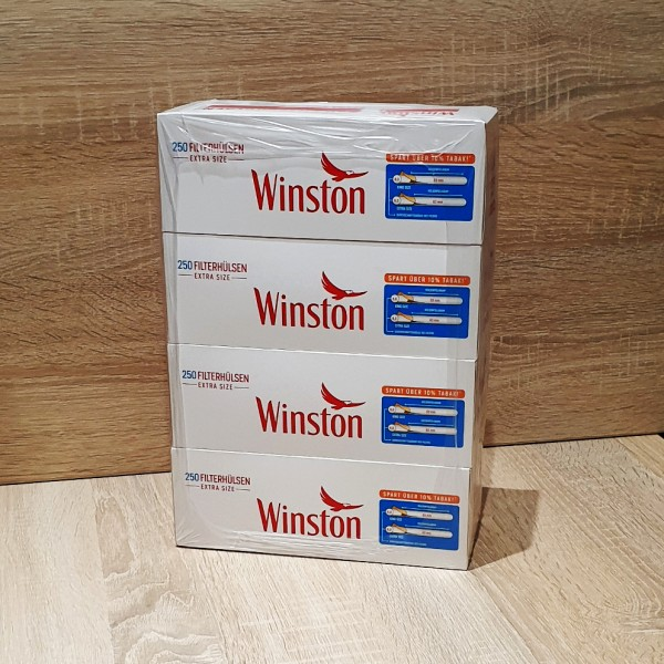 Winston Extra Size Filterhülsen 4x250 Stück