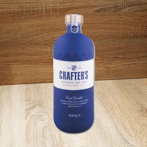 Gin CRAFTER'S London Dry 43% Vol., 700ml