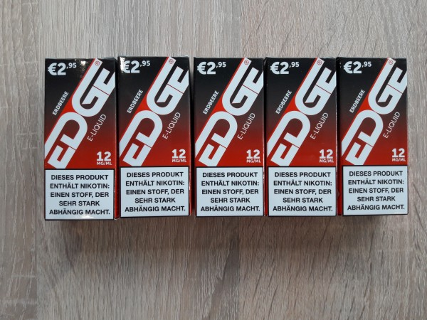 EDGE Liquid Erdbeere 5er 12mg Nikotin